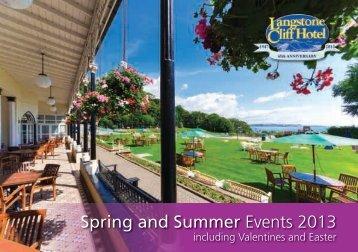 2013 Spring Events Brochure