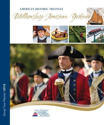 Group Tour Planner - Greater Williamsburg Chamber & Tourism ...
