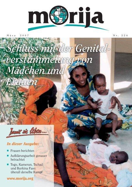 verstümmelung von Mädchen und Frauen - Morija