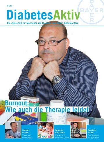 Burnout: Wie auch die Therapie leidet - Bayer Diabetes Care Schweiz