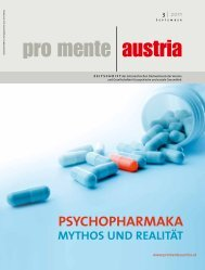 psychopharmaka - pro mente Burgenland