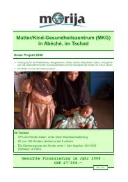Mutter/Kind-Gesundheitszentrum (MKG) in Abéché, im Tschad - Morija