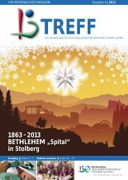 """Die """"Neue"""" - Bethlehem Gesundheitszentrum"""