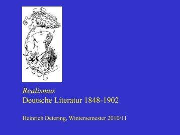 Realismus - Heinrich Detering