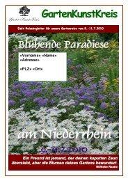 Editorial Liebe ReisendInnen, Herzlich ... - GartenKunstKreis