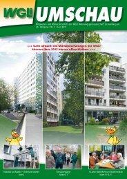 WGLi UMSCHAU 2 . 2011 - WGLi Wohnungsgenossenschaft ...