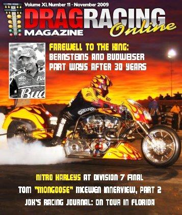 Volume - Drag Racing Online Magazine