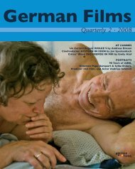 Quarterly 2 · 2008 - German Films