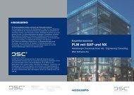 PLM mit SAP  und NX - DSC Software AG
