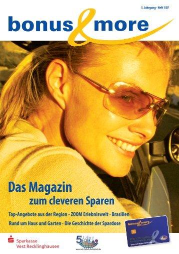 bonus & more – Magazin März 2005 - Sparkasse Vest