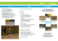 10.Wuppertaler Schulsportsymposion - DSLV