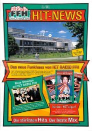 g, dem 24. Juni 2001, F' - HIT RADIO FFH Archiv