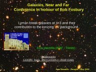 from star-forming galaxies @ z~3-4 as