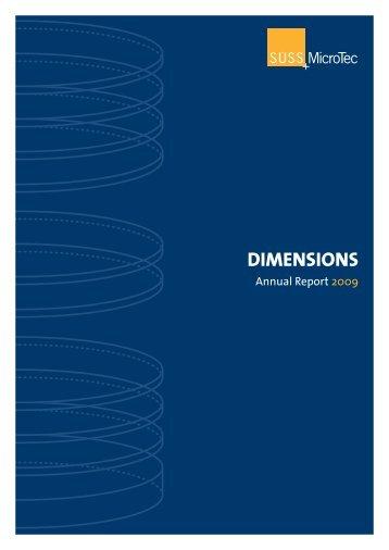 DIMENSIONS - More.de AG