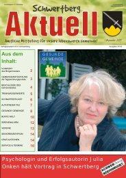 Gemeindezeitung Nr. 37 im September 07 (0 bytes - Schwertberg