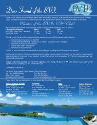 Application for Membership to BVI VIP Club - BVIPirate.com