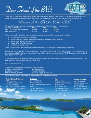 Application for Membership to BVI VIP Club - BVIPirate.com
