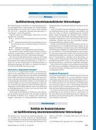 Richtlinie der Bundesärztekammer (BÄK) zur ... - des RfB
