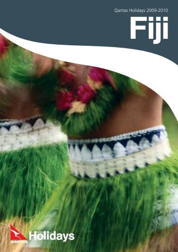 Fiji Holiday Qantas Holidays packages 2009-2010