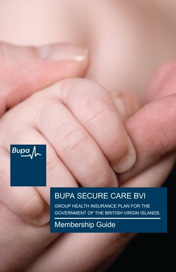 BUPA SECURE CARE BVI - Department of Human Resources