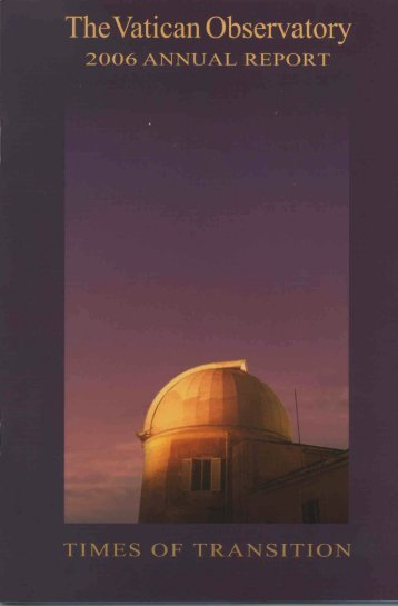 06 VO annual report FINAL - Vatican Observatory