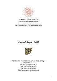 Ilbert O - Dipartimento di Fisica e Astronomia