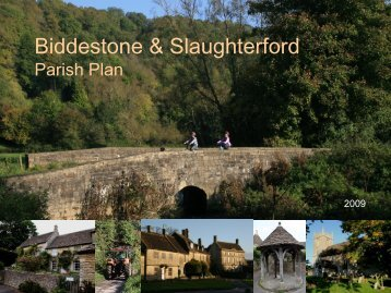 Grant Proposal for Project Name - Biddestone Village
