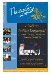 Mitteilungsblatt Ausgabe 50 - Verbandsgemeinde Nassau