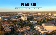UNL Campus and Landscape Master Plans - Plan Big
