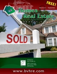 Brazos Valley Homes & Real Estate