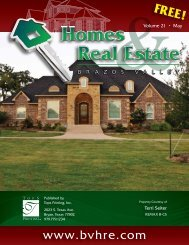 979-764-6000 - Brazos Valley Homes & Real Estate