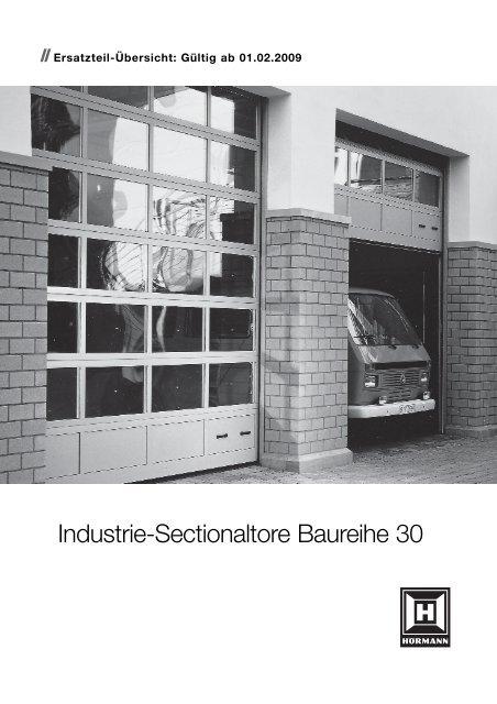 Industrie-Sectionaltore Baureihe 30 - Hörmann