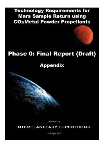 Final Report (Appendix) - Cover Page.psd - interplanetary expeditions