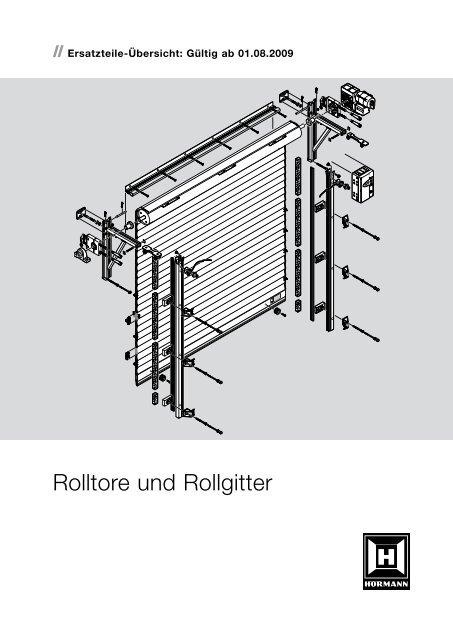 Rolltore und Rollgitter - Hörmann