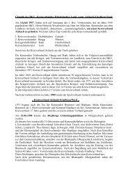 Chronik - Bezirksverband Schwaben
