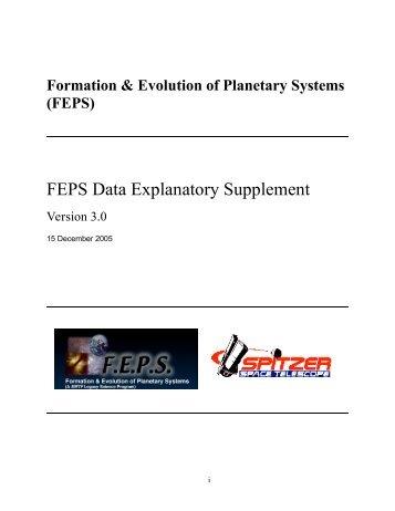 FEPS Data Explanatory Supplement - IRSA