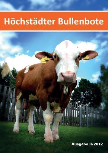 Höchstädter Bullenbote - Besamungsverein Nordschwaben eV