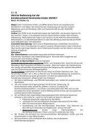 EV 38 Welche Bedeutung hat der Bundesverband Herzkranke Kinder