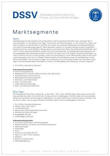 Marktsegmente - DSSV