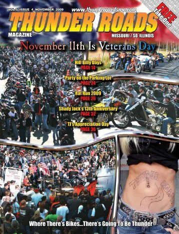 November 11th Is Veterans Day - Thunder Roads