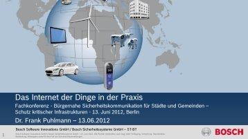 Bosch Sicherheitssysteme GmbH - ST-BT