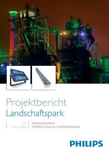 Projektbericht Landschaftspark Duisburg