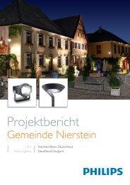 Projektbericht Gemeinde Nierstein