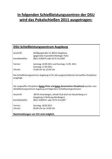 DSU-Schießleistungszentrum Langenbach