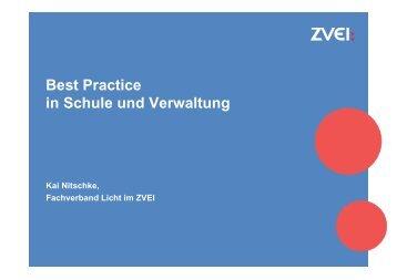"""""""Best Practice in Schule und Verwaltung"""" - Kai Nitschke"""