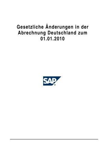 Gesetzliche Änderungen in der Abrechnung Deutschland zum 01.01 ...