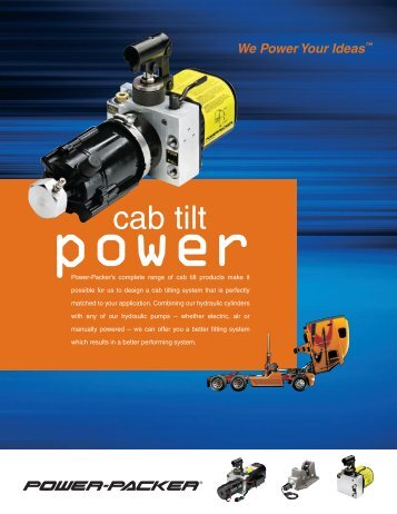 cab tilt - Power-Packer