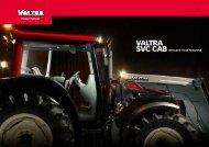 NEW SVC CABS - Valtra