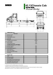 42.13Chassis Cab - Iveco