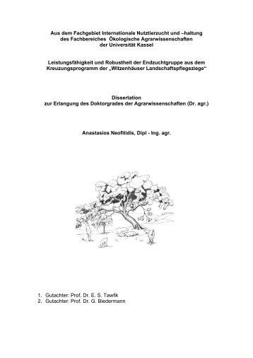 1 2 3 - KOBRA - Universität Kassel
